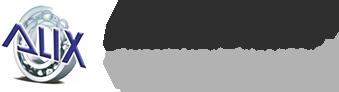 Logo - Alix ložiska